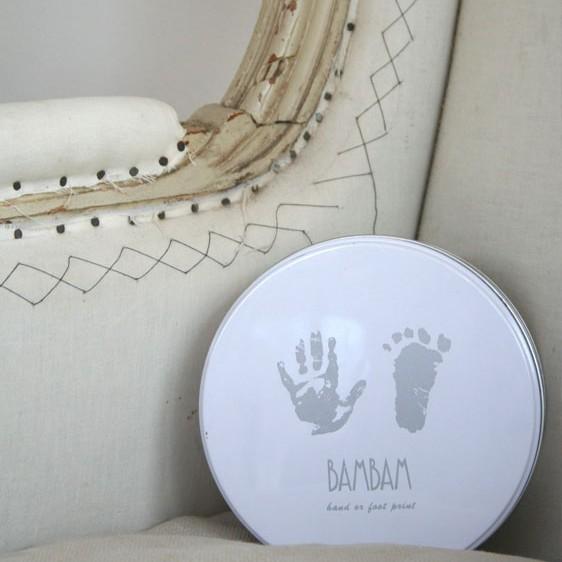 Bam Bam Foot Hand Print