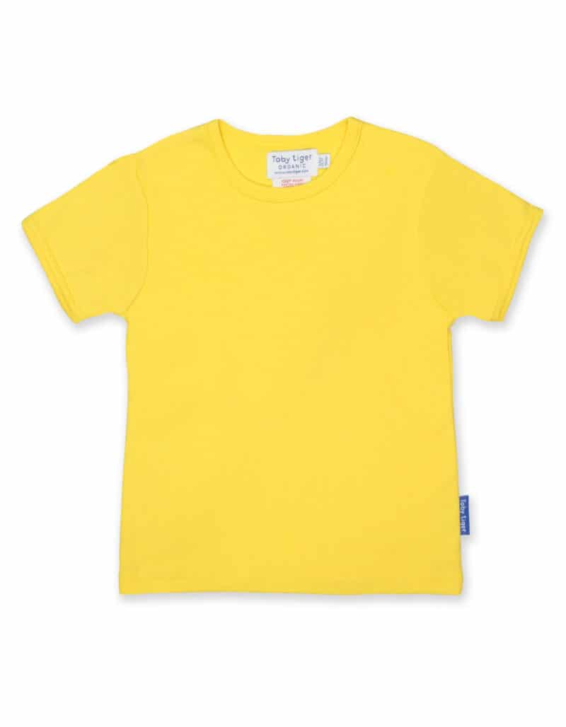 Toby Tiger Yellow T-shirt
