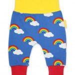 TRYOGMRAIN Organic Multi Rainbow Yoga Pants