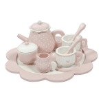 4381 – wooden tea set – pink 1