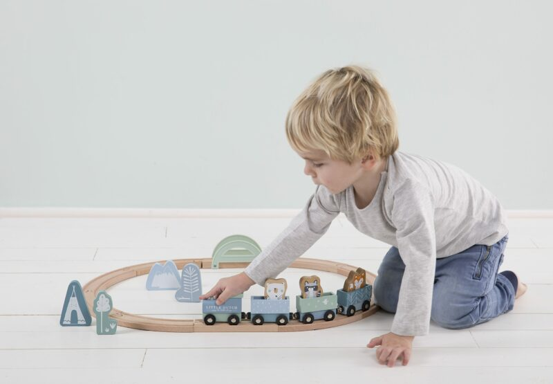 4423 – wooden train track – blue 1