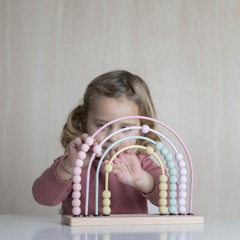 4456 – rainbow abacus – pink – 3