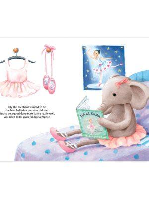 Jellycat- Elly Ballerina Book