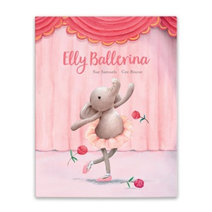 Jellycat- Elly Ballerina Book-1