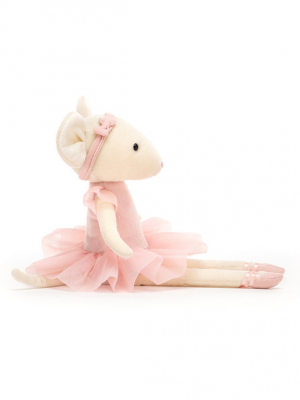 Jellycat Pirouette Mouse Candy_2