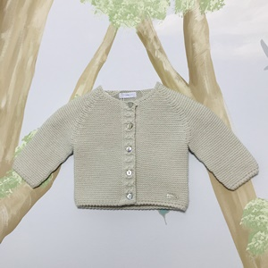 Laranjinha Knitted Grey Cardigan_1