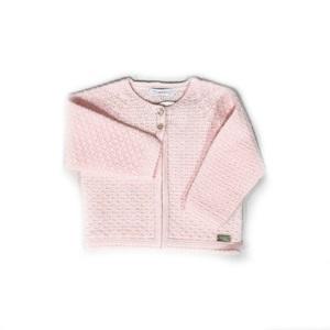 Laranjinha Knitted Pink Bolero