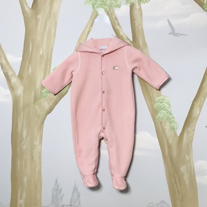 Laranjinha Pink Furry Jumpsuit_1