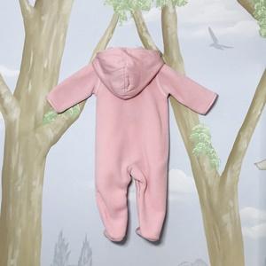 Laranjinha Pink Furry Jumpsuit_2