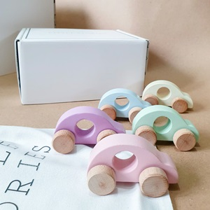 Set of 5 Perfect Pastel Toy Cars