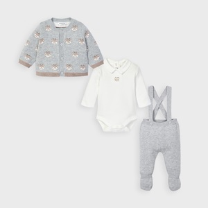 Mayoral 3 Piece Knit Set Grey_2