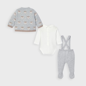 Mayoral 3 Piece Knit Set Grey_3
