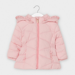 Mayoral Basic Padded Coat Pink_1
