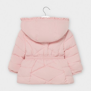 Mayoral Basic Padded Coat Pink_2
