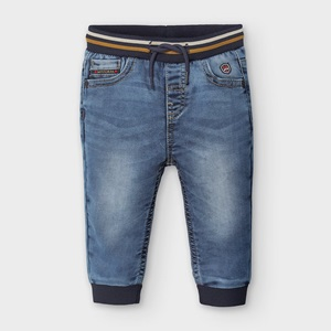 Mayoral Denim Effect Joggers Basic Denim