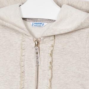 Mayoral Hooded Sweatshirt Metallic Stone_4