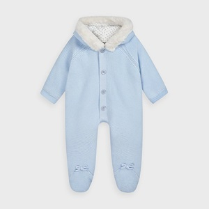 Mayoral Knit Snowsuit Sky_1