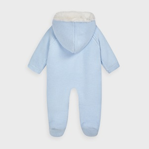 Mayoral Knit Snowsuit Sky_2