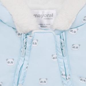 Mayoral Patterned Microfibre Snowsuit Blue_3