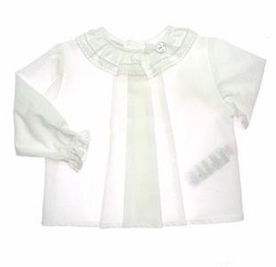 Paz Rodriguez White Blouse With Knickers_1