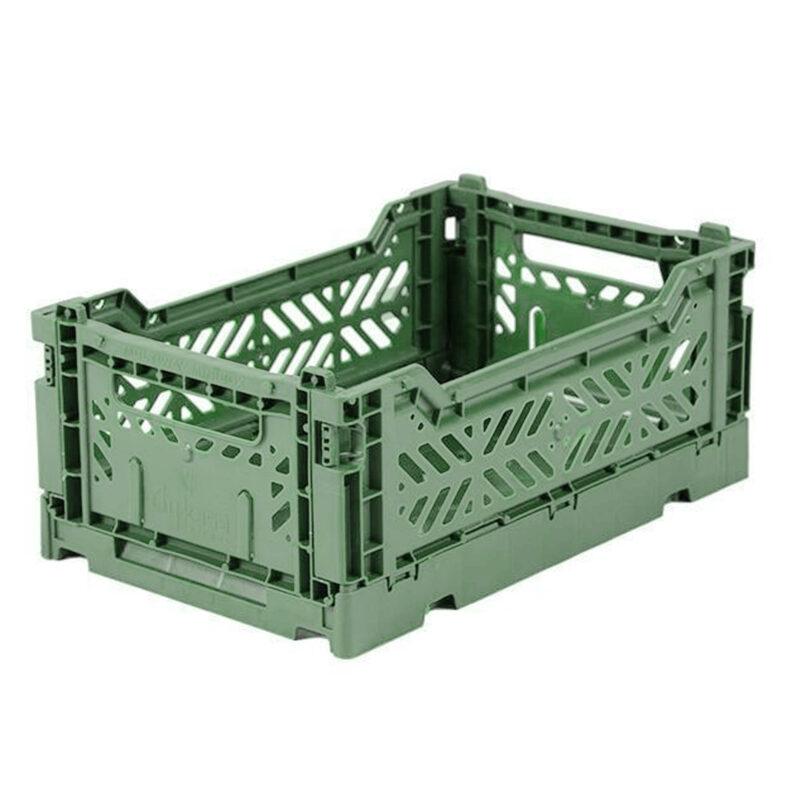 Aykasa Almond Green Small Crate