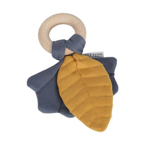 Little Dutch Crinkle Toy Leaves Pure & Nature blue 01