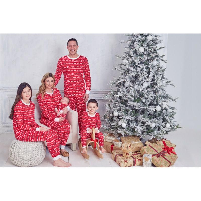Christmas Deer Adult Pajama Top_2