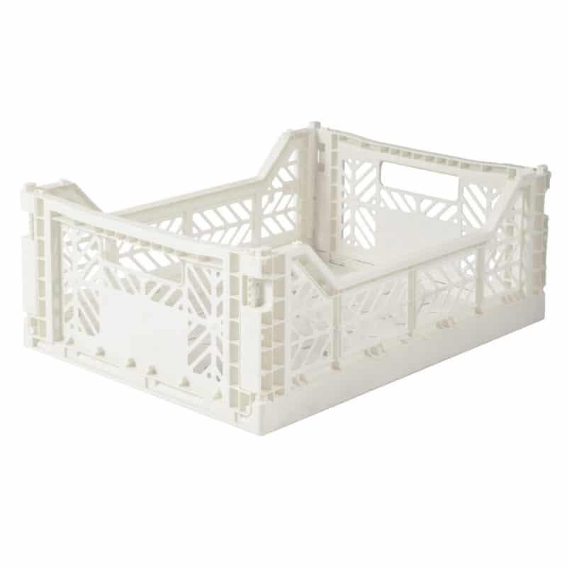 Aykasa Medium Folding Storage Crate Coconut Milk