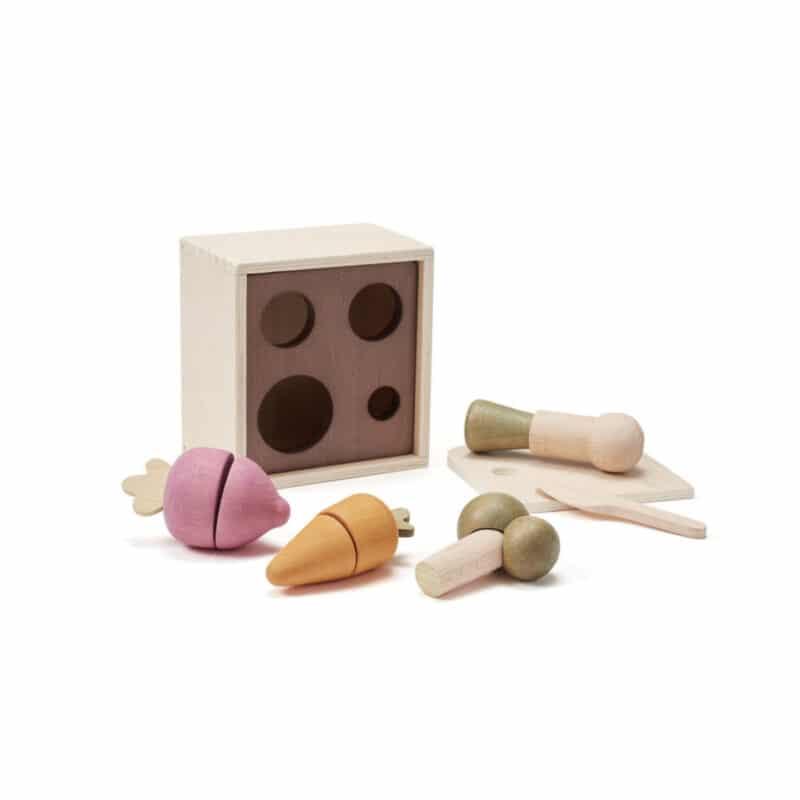 Wooden plant box BISTRO