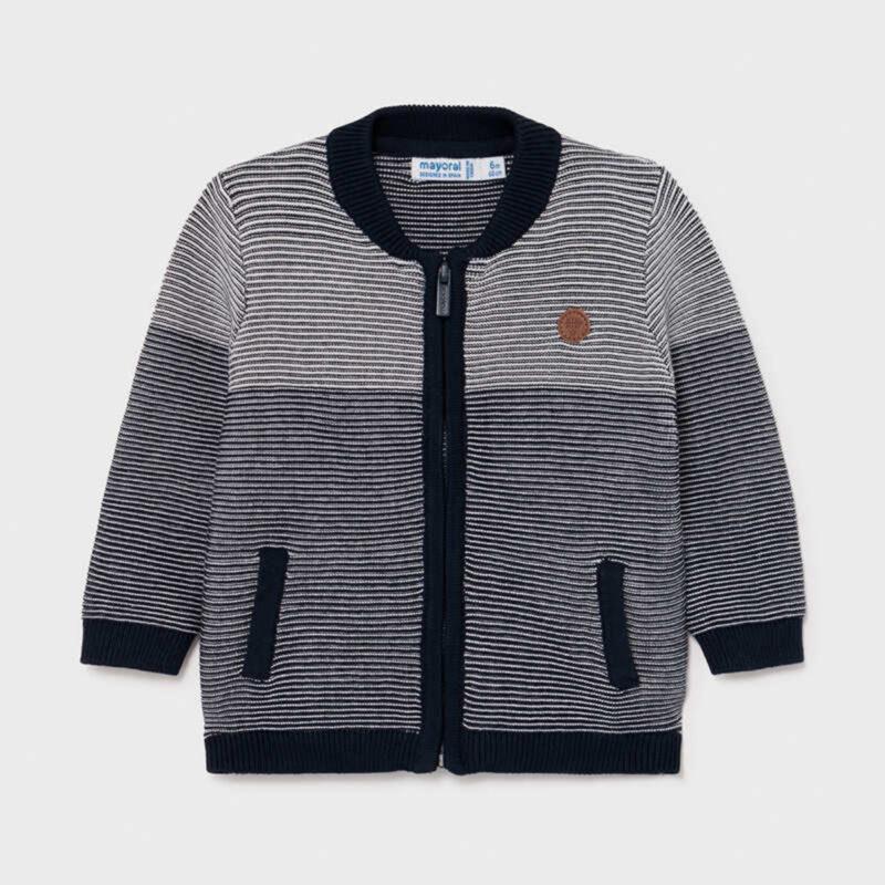 Tricot Striped Jacket