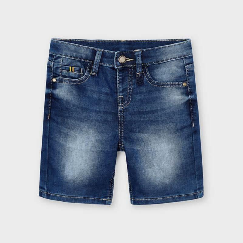 Mayoral Soft Denim Shorts