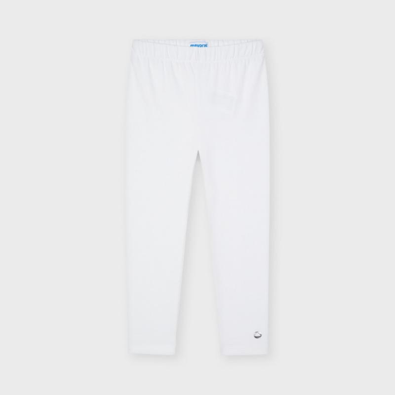 ECOFRIENDS Basic Long Leggings White