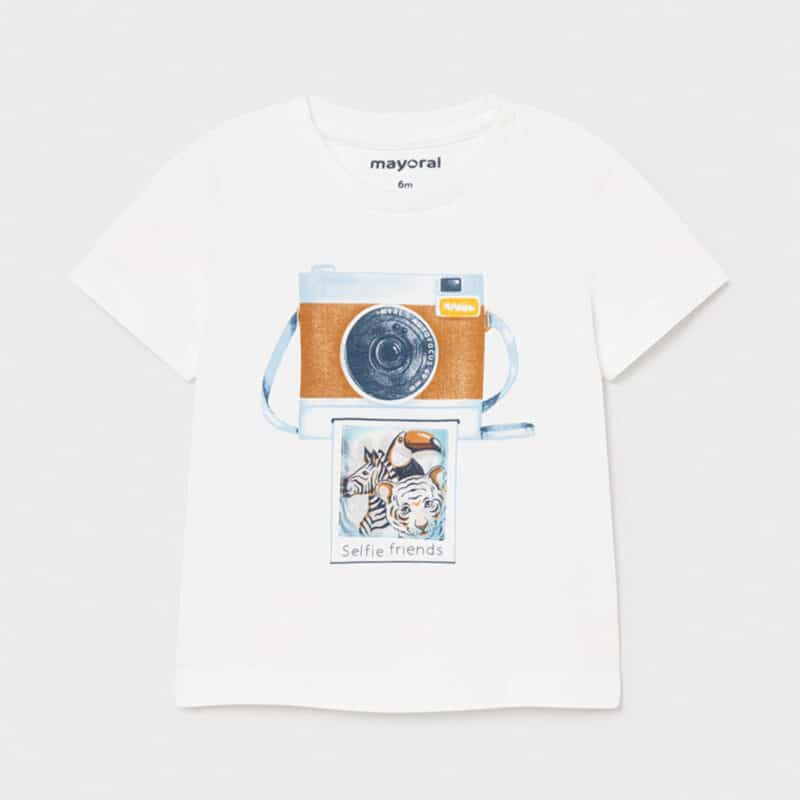 PLAY WITH T-shirt With Lens Print