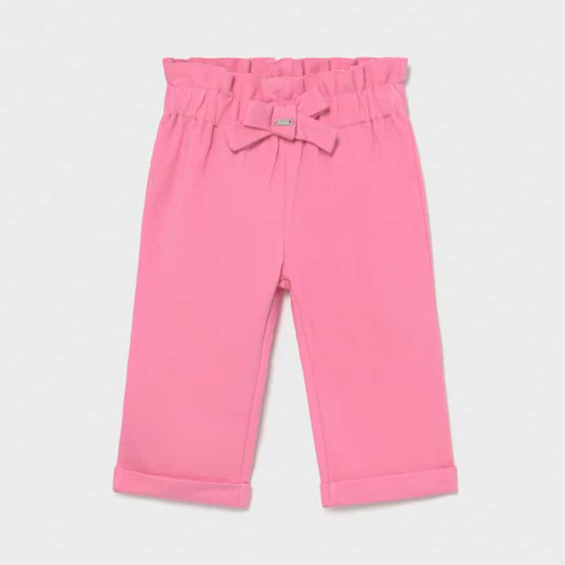 Knit trousers Pink