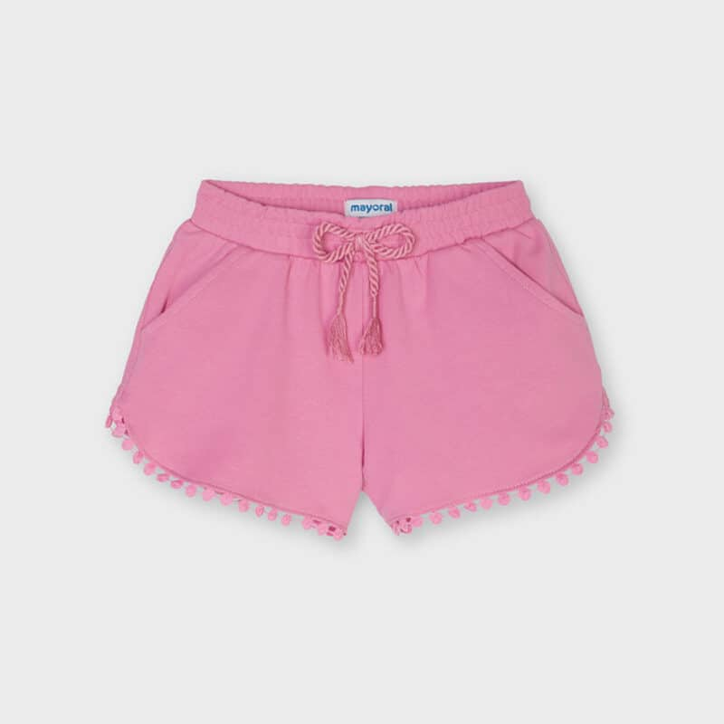 Chenille Shorts Pink