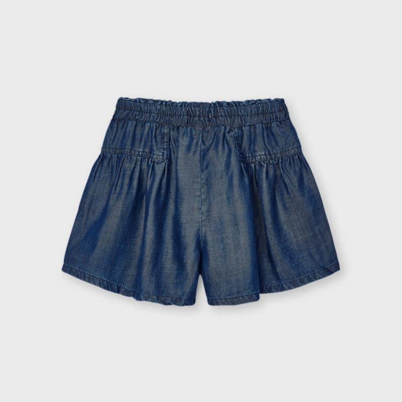 ECOFRIENDS Flowy Denim Shorts Dark