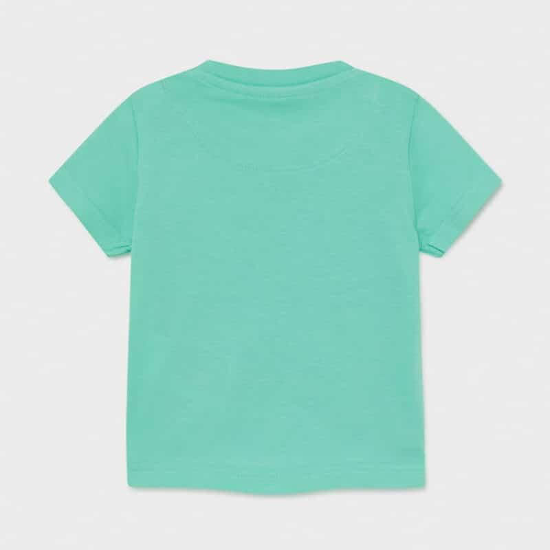 ECOFRIENDS Cotton T-shirt Aqua