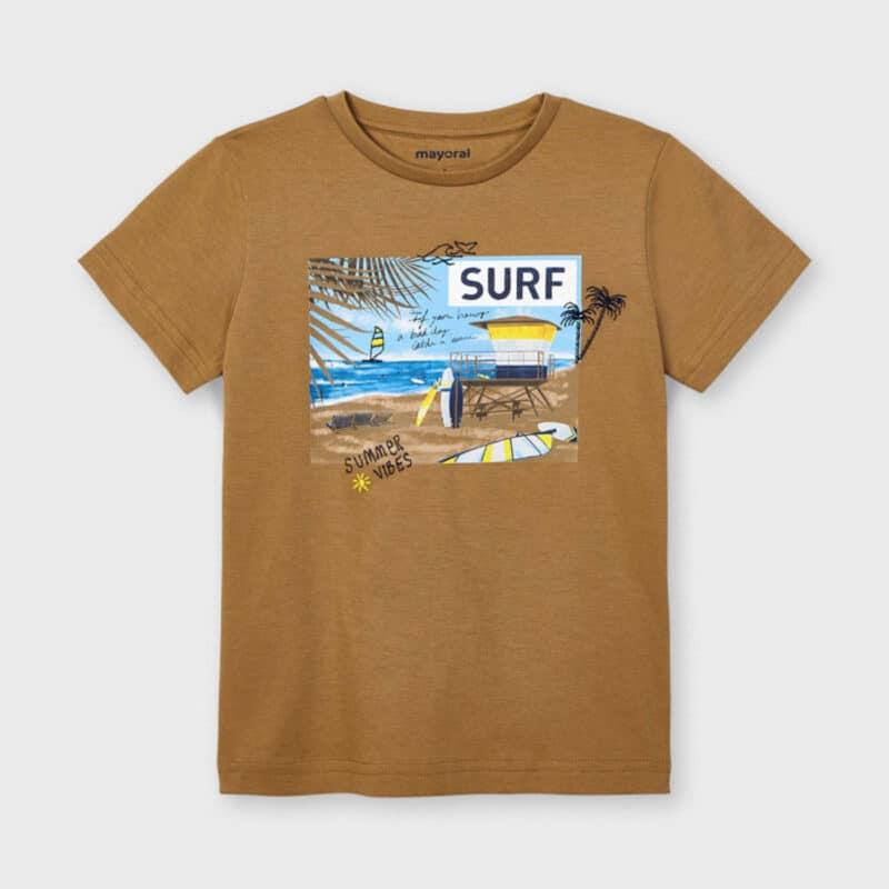 ECOFRIENDS Sustainable Cotton Surf T-shirt Beach