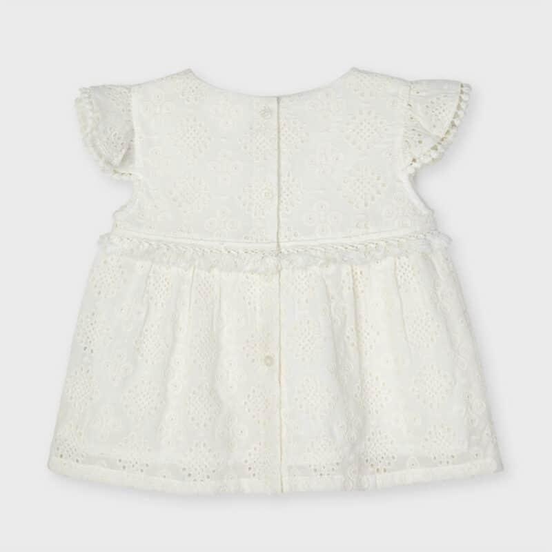 Chiffon Embroidered Blouse
