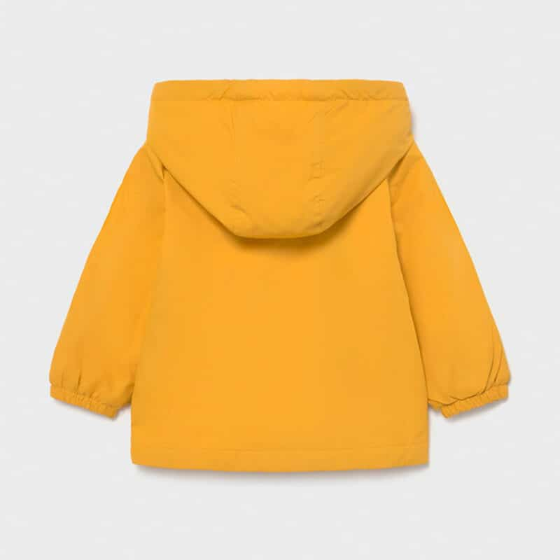 Mayoral Yellow Windbreaker Jacket Back