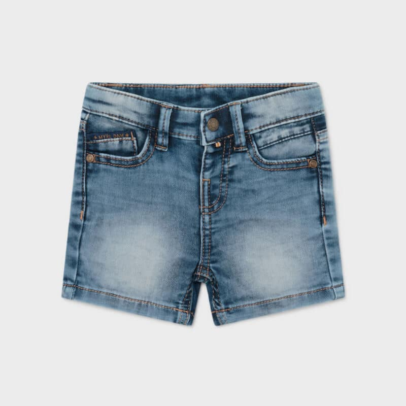 ECOFRIENDS Soft Denim Cotton Shorts