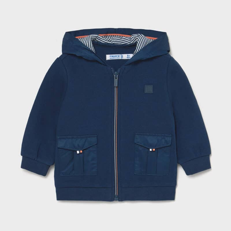 Knit Jacket Blue