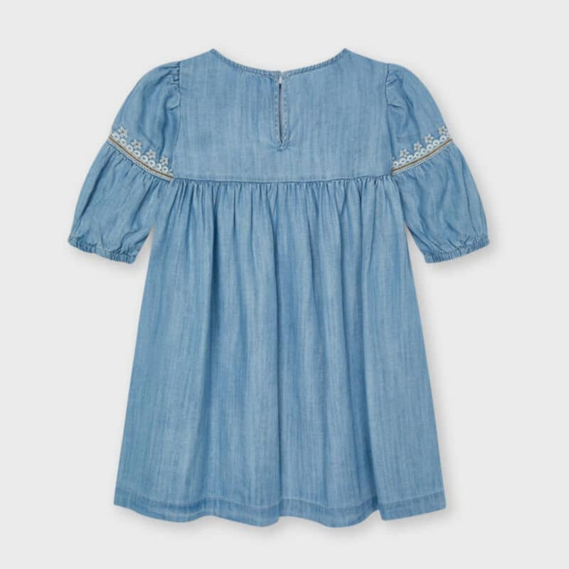 ECOFRIENDS Embroidered Tencel Dress