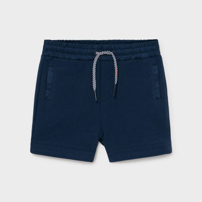 Knit Shorts Blue