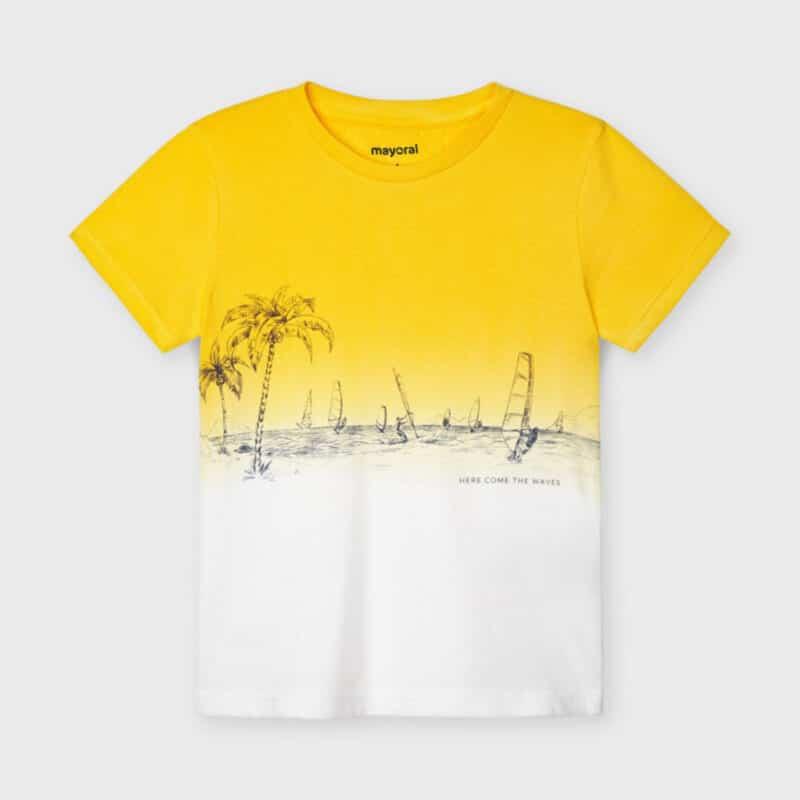 Dip Dye T-shirt Sun
