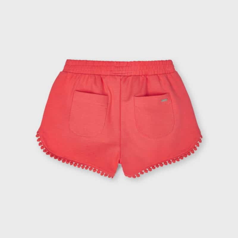 Chenille Shorts Coral