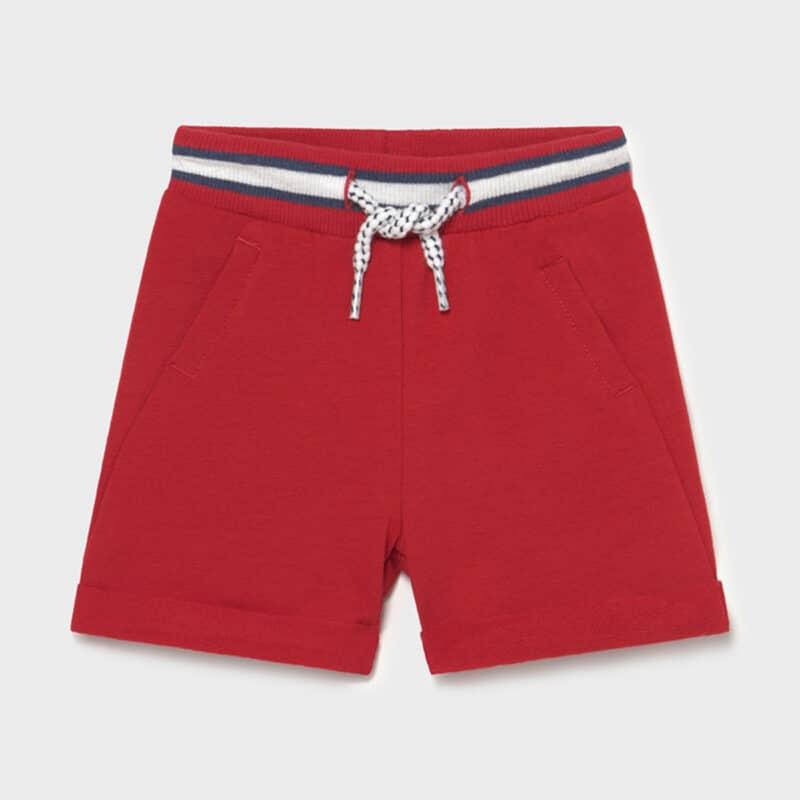 Jogger Shorts Tomato