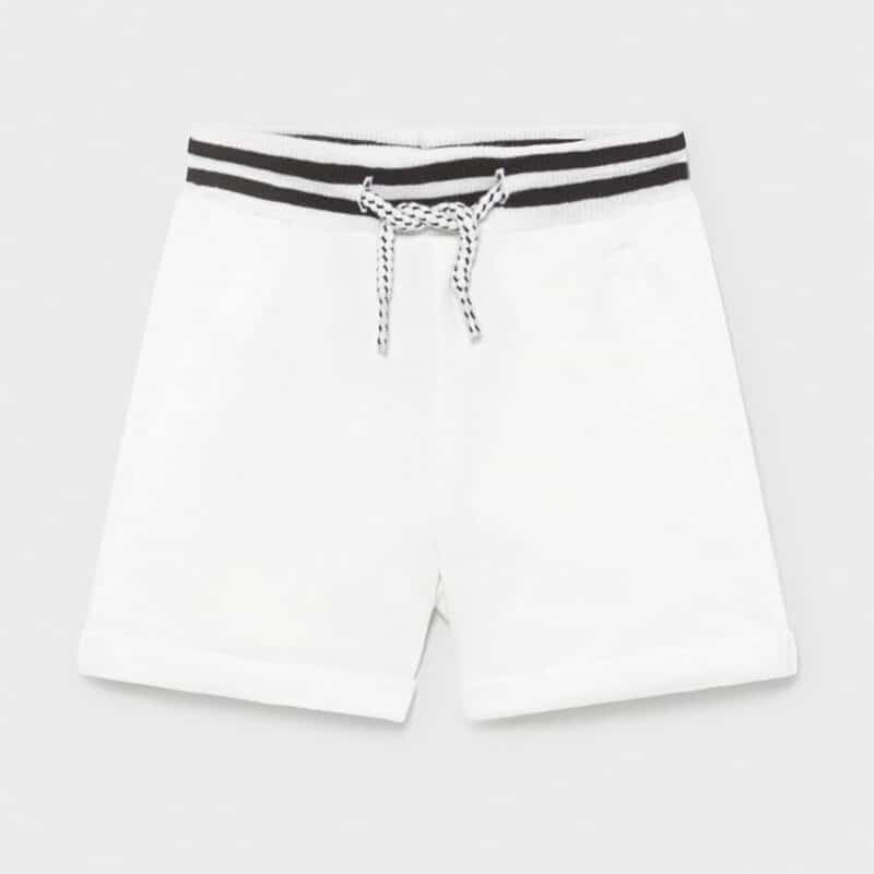 Jogger Shorts White