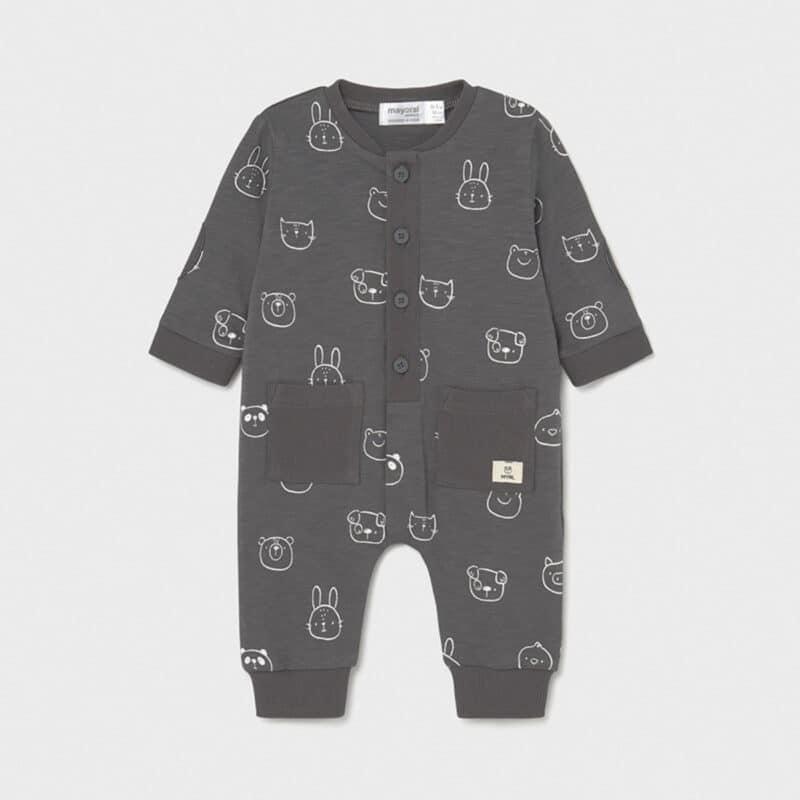 Pijamas with pockets Anthracite