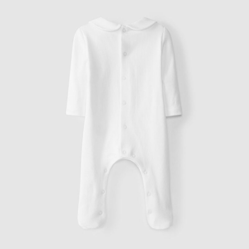 Babygrow Pocket With Embroidery